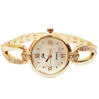 Biziborong JW Bracelet Lady Woman Bronze Watch (No BOX)  R391