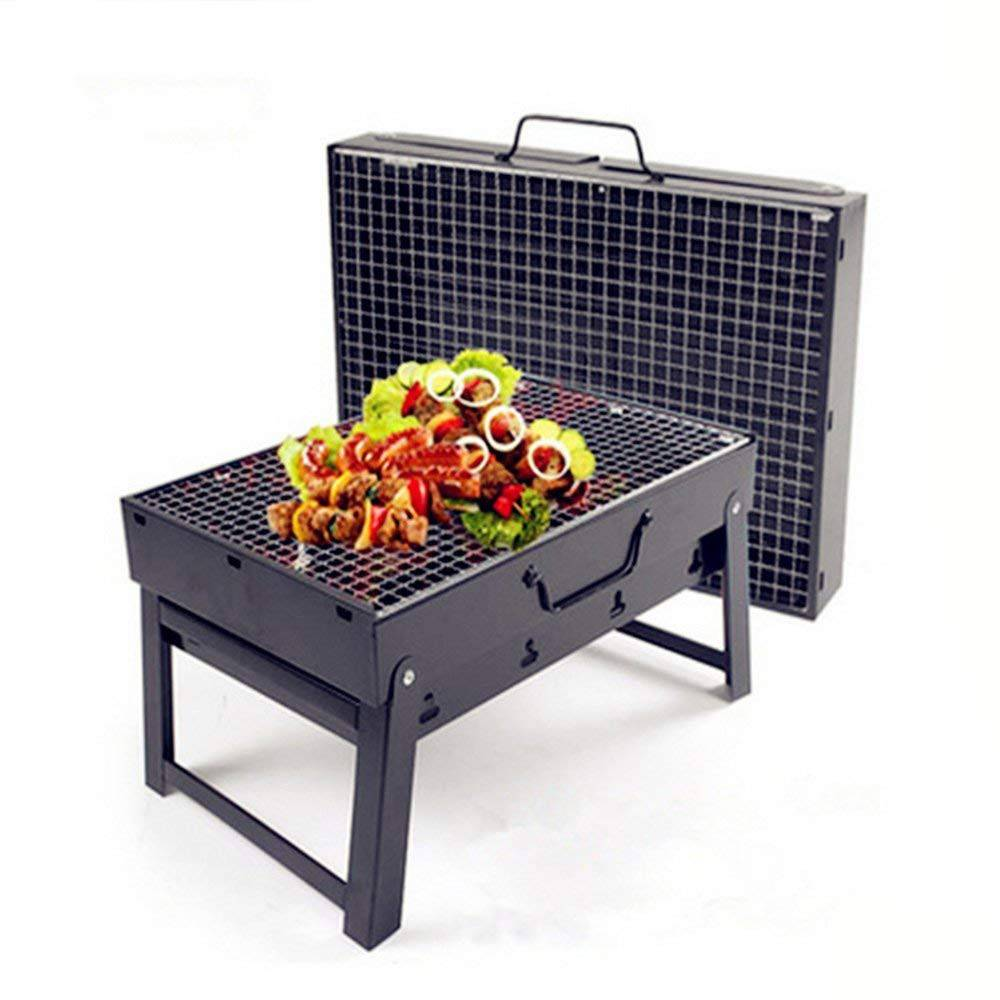 Biziborong Portable Foldable Outdoor Charcoal BBQ Grill ...