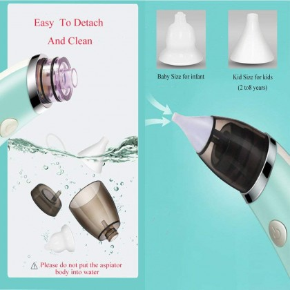 Biziborong Baby Nasal Aspirator Electric Nose Cleaner USB Charging  R849