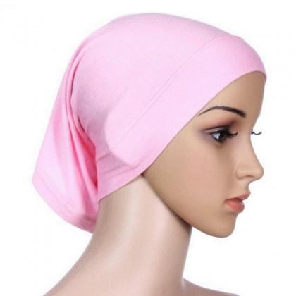 Biziborong Muslimah Hijab Inner Tudung Cotton Mini Head Bonnet Cap - RA8