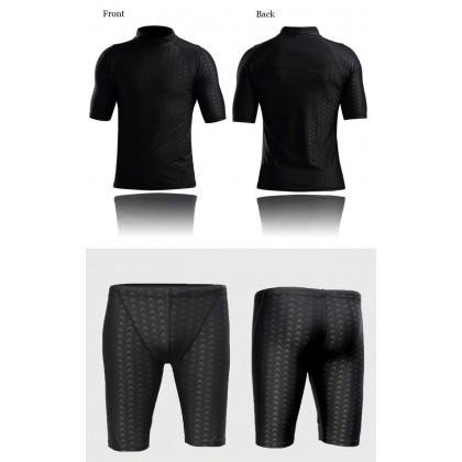 Biziborong Shark Skin Men Swimming Suit Shirt Cap and Pant - RC21