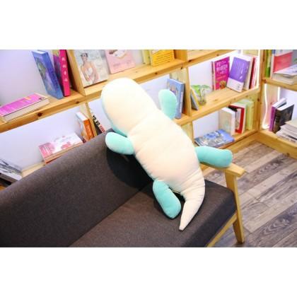 Biziborong 80cm Dinosaur Dino Soft Plush Stuffed Toy Stuff Cushion Doll Birthday Valentine Gift Pillow Kids - RE30