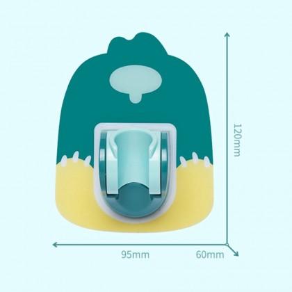 Biziborong Wall Mounted Adhesive Adjustable Sprinkler Shower Hose Head Holder Stand Bracket Base for Bathroom - RE54