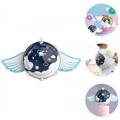 Biziborong Angel Wing Round Kids Toy Outdoor Pull Out Water Gun Shooting Backpack Beach Pool - RF100