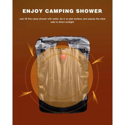 Biziborong 20L Foldable Camp PVC Shower Bag Shower Water Storage Bag Outdoor Sport Travel Picnic Camping - RB20